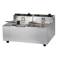 Apuro | Double Basket Deep Fryer