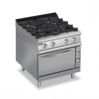 BARON 4 Burner Gas Oven
