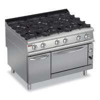 BARON - 6 Burner Gas Range with Oven 9PCF/G1205