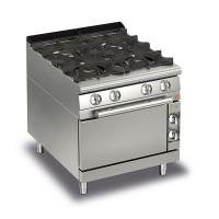 BARON - 4 Burner Gas Oven Q70PCF/G8005