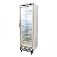 Bromic UF0374S LED Flat Glass Door 300L Upright Display Freezer