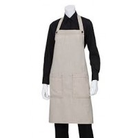 Chef Works | Soho Natural Bib Apron