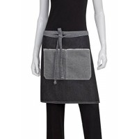 Chef Works | Bronx Black Denim Half Apron