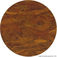 Autumn Leaves Marble 'Solid Stone' Round Table Tops