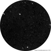 Black Marble 'Solid Stone' Round Table Tops