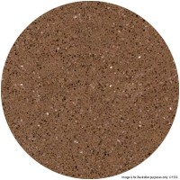 Brown Marble 'Solid Stone' Round Table Tops
