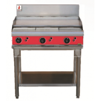 Fuoco | 3 BURNER GRIDDLE HOTPLATE