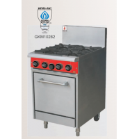 Fuoco | 4 OPEN BURNER WITH STATIC OVEN