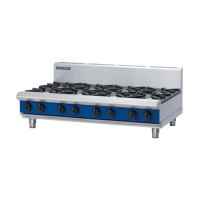 Blue Seal | Gas Cooktop 8 Burner