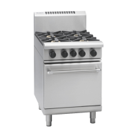 Waldorf   Gas Oven 4 Burner