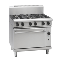 Waldorf | Gas Convection Oven 6 Burner