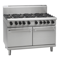 Waldorf | Gas Double Static Oven 8 Burner