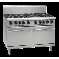 Waldorf | Gas Double Static Oven 8 Burner