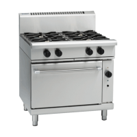 Waldorf | Gas Convection Oven Extra Wide 4 Burner