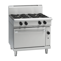 Waldorf | Gas Oven Extra Wide 4 Burner