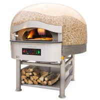 Morello Forni | Wood/Gas Rotary Pizza Oven