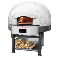Morello Forni | Mix Wood Oven + Gas Heated Bedplate