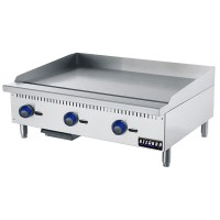 Azzurro | 3 Gas Burner Griddle/Hot Plate