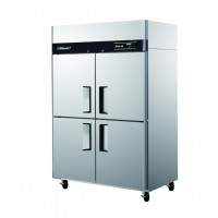 Skipio | 4 Door Top Mount Dual Temp Fridge/Freezer