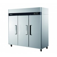 Skipio | 3 Door Top Mount Dual Temp Fridge/Freezer