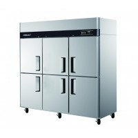 Skipio | 6 Door Top Mount Dual Temp Fridge/Freezer