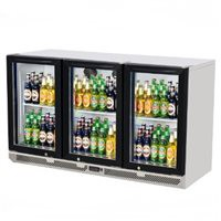 Skipio | 3 Door Back Bar Fridge