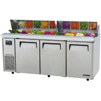 Skipio | 3 Door Salad Buffet Fridge With Hood Lid