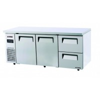 Skipio | 2 Door Under Counter Fridge