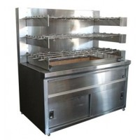 Rotoxhix 12RODS Chicken Rotisserie