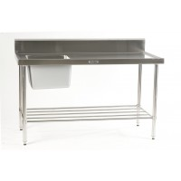 Sink Bench with left hand bowl 1200 x 700