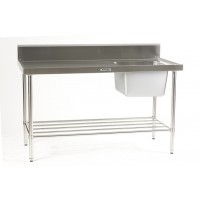 Sink Bench with right hand bowl 1200 x 700