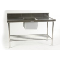 Sink Bench with centre bowl 1500 x 700