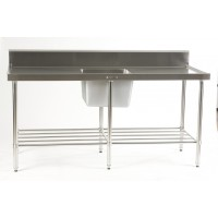 Sink Bench with centre bowl 1800 x 700