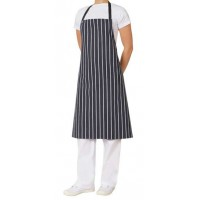 Bib - Navy And White Pin Stripe