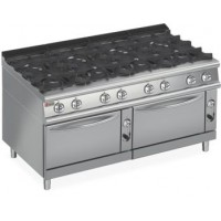 BARON 8 Burner Double Oven Gas Range