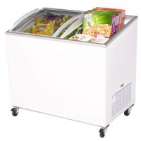 Bromic | Curved Glass Chest Freezer CF0300ATCG