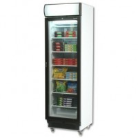 Bromic | Glass Door Freezer 300L  w/Lightbox