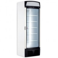 Bromic | Glass Door Freezer 450L w/Lightbox + c/Glass