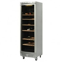 Bromic | Wine Chiller 380L with Curved Glass Door + LED Lights