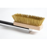 GI METAL OVEN BRUSH - S/S Handle