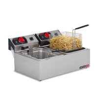 Anvil | Double Pot Deep Fryer