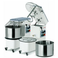 Mecnosud SMM0018 Tilting Head Removable Bowl Sprial Mixer