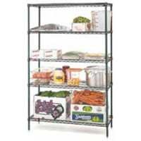 Metro |  4 Tier Wire Shelving