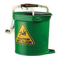 Contractor Wide Mouth Roller Bucket