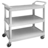 HYKLENE 3 Tier Food Service Cart