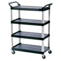RUBBERMAID Xtra 4 Shelf Cart