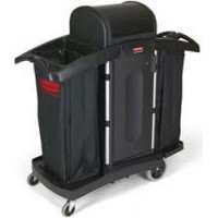 RUBBERMAID Secure Housekeeping Cart