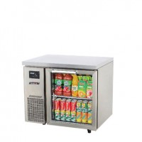 Skipio | 1 Door Glass Under Counter Fridge