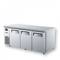 Skipio | 3 Door Under Counter Freezer With Side Prep Table