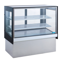TOPAZ HEATED FOOD DISPLAY 1200mm